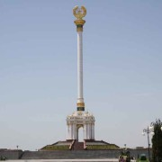 Independence monument Dushanbe