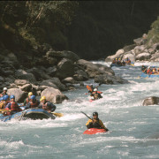 Rafting the Bhote Koshi
