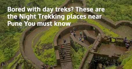 Bored with day treks These are the Night Trekking places near Pune You must know